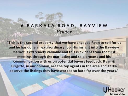 6 Barkala Road Bayview, NSW 2104