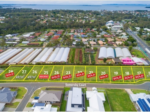 Lot 25/26 Somersby Court Birkdale, QLD 4159