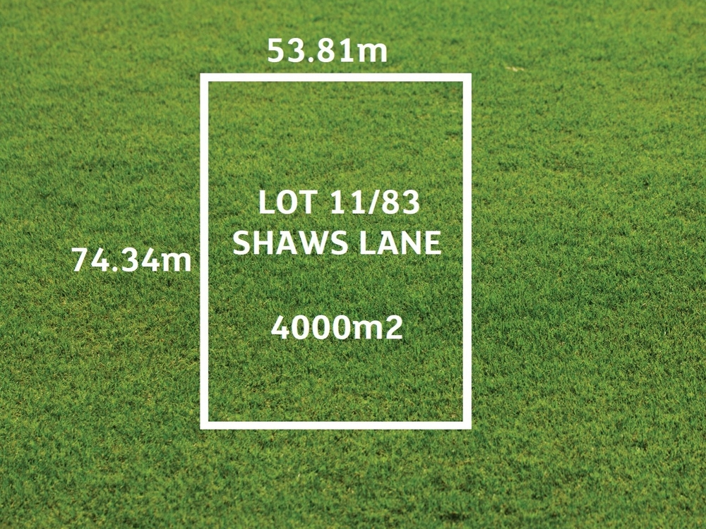 Lot 11/83 Shaws Lane Rosedale, VIC 3847