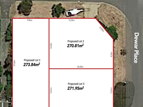 Lot 1, 2 & 3/3 Dewar Place Balga, WA 6061
