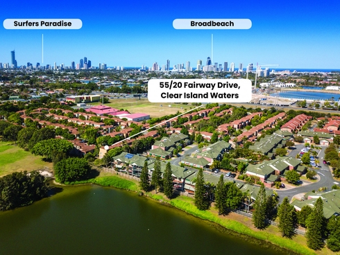 55/20 Fairway Drive Clear Island Waters, QLD 4226