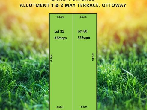 Lot 1 & 2/116 May Terrace Ottoway, SA 5013